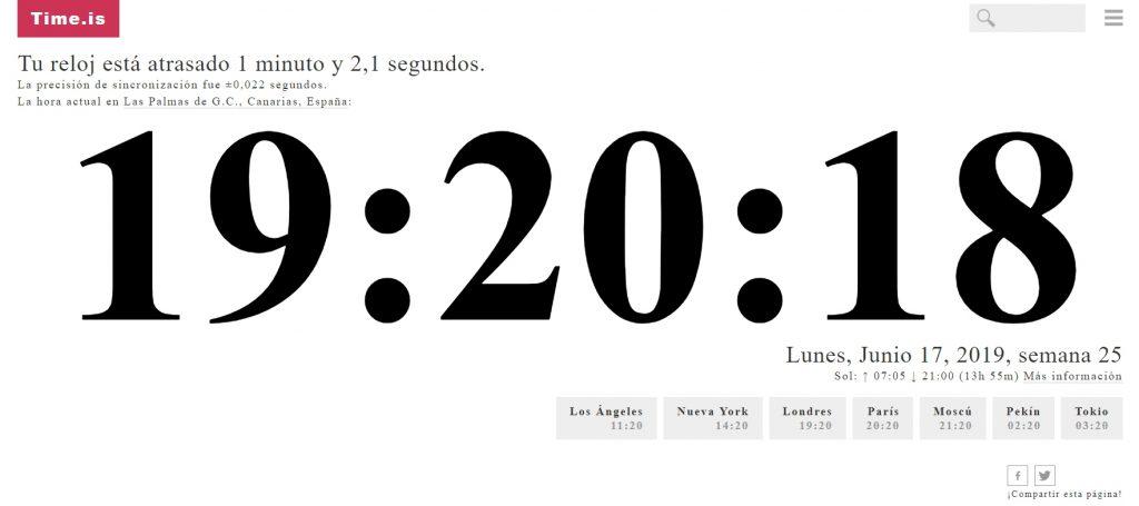 Cómo poner un reloj mundial personalizado en tu Web
