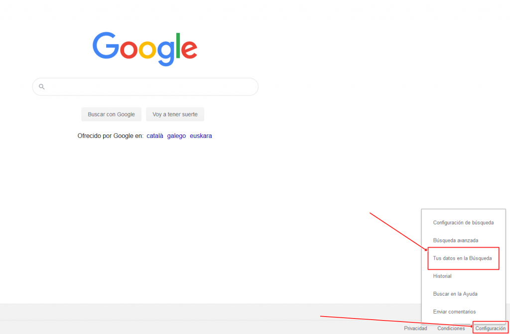 Qué sabe Google de ti cuando navegas por Internet